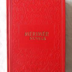 """""""NUVELE"""", Prosper Merimee, 1956. Editie de lux. Carte noua, Alta editura"""