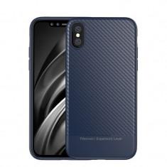 Husa Huawei P20 Lite - IPaky Carbon Fiber Blue