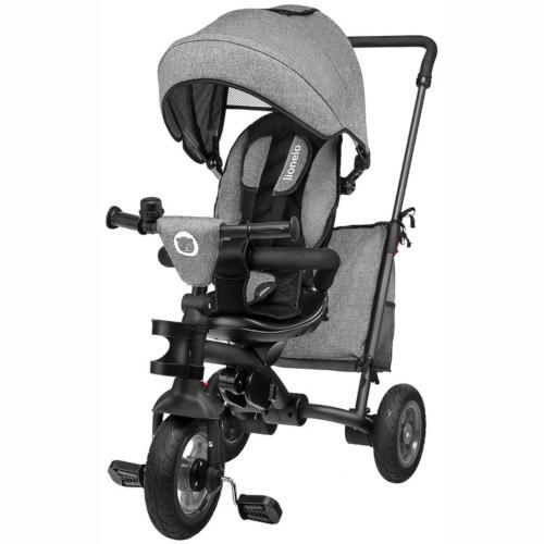 Tricicleta Multifunctionala Pliabila cu Sezut Reversibil Tris Stone Grey