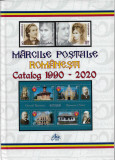 CATALOG FILATELIC ROMANIA, PERIOADA 1990 - 2020, COLOR, CARTONAT - ABSOLUT NOU !