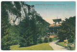 4345 - Baile HERCULANE, Park, Romania - old postcard, CENSOR - used - 1915, Circulata, Printata