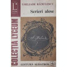 SCRIERI ALESE - I . HELIADE RADULESCU