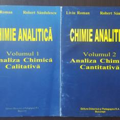 CHIMIE ANALITICA - Volumul 1 si 2 - Liviu Roman, 1999