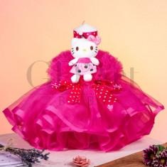 Lumanare Rochita Tulle Hello Kittie BB-010