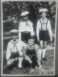 Pionieri romani// fotografie originala C. Mierlescu
