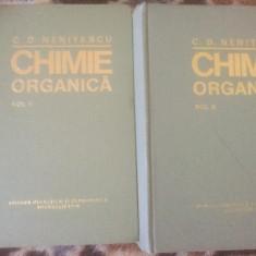 Vand Chimie organica 2 volume 1980 C.D.Nenitescu