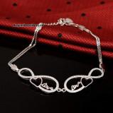 Cumpara ieftin Bratara Din Argint --LOVE and LOVE-- ARG156