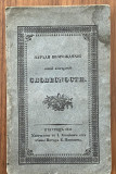 Carte veche Istorie Moldo Valaha traducere din lb Romana 1842
