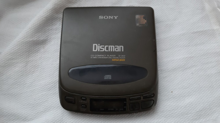 SONY DISCMAN D-202 , DEFECT .