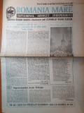 Ziarul romania mare 27 noiembrie 1992-130 ani de la nasterea lui vasile goldis