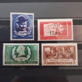 CENTENAR CARAGIALE-SUPRATIPAR 1952-SERIA NESTAMPILATA, Nestampilat