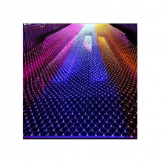 Plasa lumini 6x4M, multi-color 700led-uri