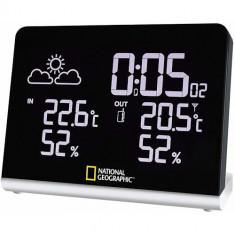 Statie Meteorologica Wireless cu Display 256 Culori, National Geographic