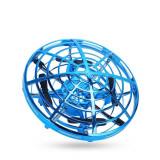 Cumpara ieftin Mini drona OZN cu control gestual bleu, Amewi