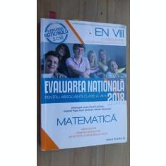Evaluarea nationala pentru absolventii clasei a VIII-a 2018- Gh.Iurea, D.Luchian, G.Popa