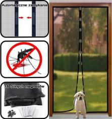 Plasa Perdea Anti Insecte Tantari cu Magneti 200x100cm Magic Mesh foto
