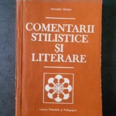 IERONIM TATARU - COMENTARII STILISTICE SI LITERARE