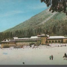 "CPI B 11833  CARTE POSTALA - POIANA BRASOV. HOTEL ""SPORT"", iarna, Circulata, Fotografie"