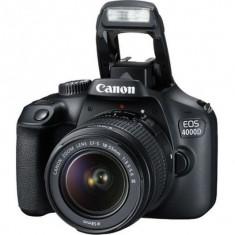Canon 4000D cu Obiectiv 18-55mm DC III