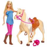 Cumpara ieftin Set Barbie papusa cu cal, Mattel