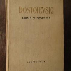 CRIMA SI PEDEAPSA - F . M . DOSTOIEVSKI