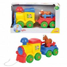 Jucarie tren pe roti cu remorca 4010733 Simba
