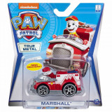 Masinuta cu figurina Paw Patrol True Metal, Marshall 20120840