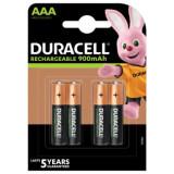 Acumulatori Duracell AAA R3 900mAh 4 Bucati / Set