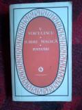 W4 Vasile Voiculescu, IUBIRE MAGICA / POVESTIRI