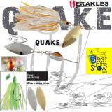 Spinnerbait Herakles Quake, Chartreuse/Lime, 17.5g