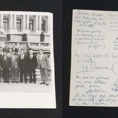 Fotografie & autografe ORIGINALE  Reuniune colegiala anul 1981 Piesa de colectie