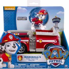 Set de joaca Patrula Catelusilor - Masina Pompierului Marshall cu figurina