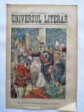 Ziarul Universul Literar, 17 Maiu 1910 , Regele Carol I , cromolitografie
