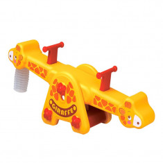 Balansoar pentru copii Girafa Edu Play KU-1501G, Galben
