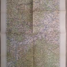 Alba-Iulia/ harta Serviciul Geografic al Armatei 1939