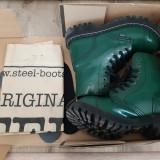 Bocanci Steel 8 inele, Full Green