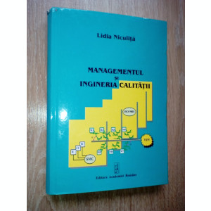 Lidia Niculita Managementul si ingineria calitatii