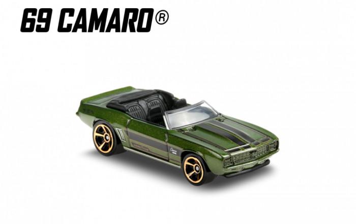 '69 camaro hot wheels 3/5 hw roadsters 2020