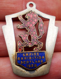 I.817 MEDALION/BRELOC SCOTIA EMPIRE EXHIBITION SCOTLAND 1938 h34mm email, Europa