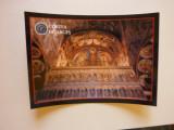 Carte poștală - Frescă interioară Biserica Domnească Curtea de Argeș