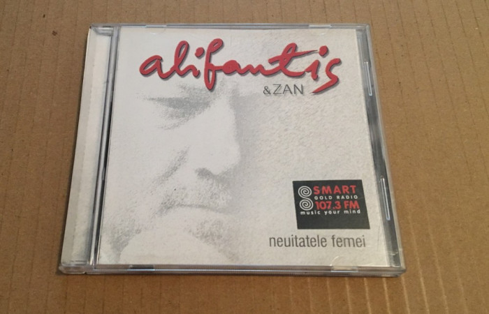CD Alifantis & Zan – Neuitatele Femei (2002)