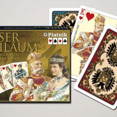 Cărți de joc  de lux  Kaiser Imperial. Austria. Piatnik.