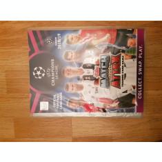 Binder gol, cartonase Adrenalyn, TOPPS UCL 2018/2019 coperti originale