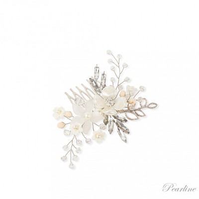Pieptene par cu flori Preciosa foto