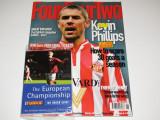 "Revista fotbal - ""FOURFOURTWO"" +  Ghid Campionatul European 2000(iunie 2000)"