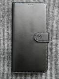 Husa Flip Wallet pentru Huawei P30 Lite - Piele neagra, Negru, Celly