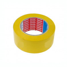 Banda adeziva marcare Tesa 60760 33mx100mm galben