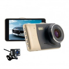 Camera auto DVR, 4 inch, Full HD, 170 grade, USB, slim 9 mm