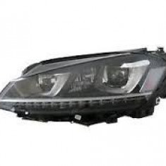 Far Vw Golf 7 (5k), 10.2012- Model R, Electric, tip bec D3S+H7, omologare ECE, cu motor, bi-xenon, fara balast, cu lumini de zi , iluminare in viraje