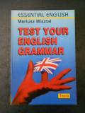 MARIUSZ MISZTAL - TEST YOUR ENGLISH GRAMMAR